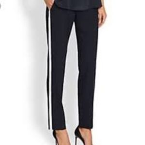 NWT Vince light weight white striped pants!!